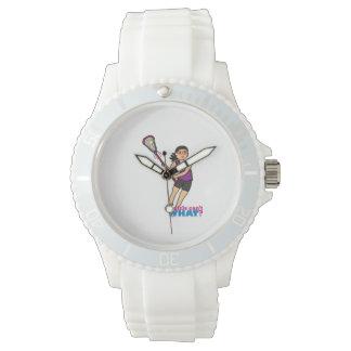 Lacrosse Girl - Medium Wrist Watch