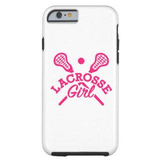 Lacrosse girl tough iPhone 6 case