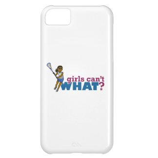 Lacrosse Girls Blue Uniform iPhone 5C Case