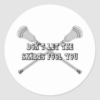 Lacrosse Girls Fool Sticker