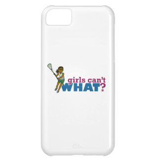 Lacrosse Girls Green Uniform Case For iPhone 5C