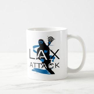 Lacrosse Girls LAX Attack Blue Mug