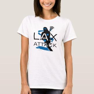 Lacrosse Girls LAX Attack Blue T-Shirt