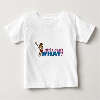 Lacrosse Girls Red Uniform Baby T-Shirt