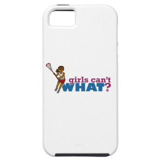 Lacrosse Girls Red Uniform iPhone 5 Case