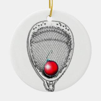 Lacrosse Goalie Ceramic Ornament