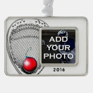 lacrosse goalie collectible ornament