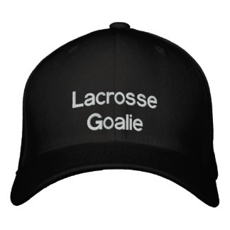 Lacrosse Goalie Hat Embroidered Hat