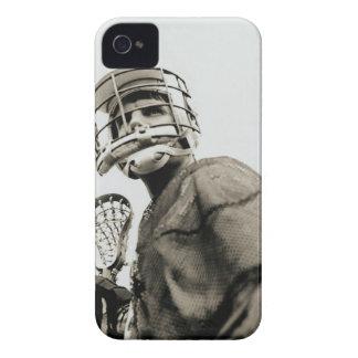 Lacrosse Goalkeeper iPhone 4 Cases