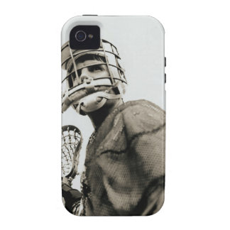 Lacrosse Goalkeeper Case-Mate iPhone 4 Cover