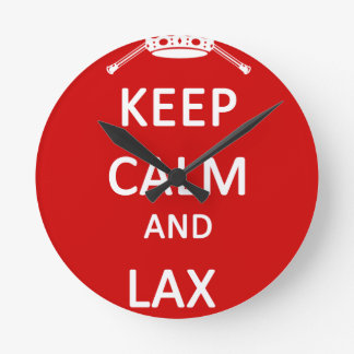 LaCrosse guardan calma y flojos encendido Relojes De Pared