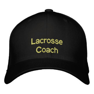 Lacrosse Hat Embroidered Baseball Cap