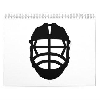Lacrosse helmet calendar