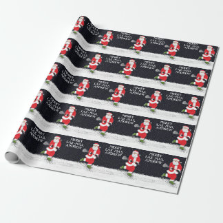 lacrosse holidays wrapping paper