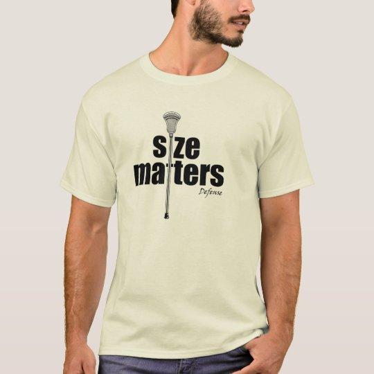 Lacrosse Humor SizeD T-Shirt