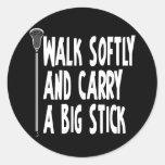 Lacrosse Humor WSBS 3 Sticker