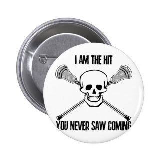 Lacrosse I Am the Hit Pin