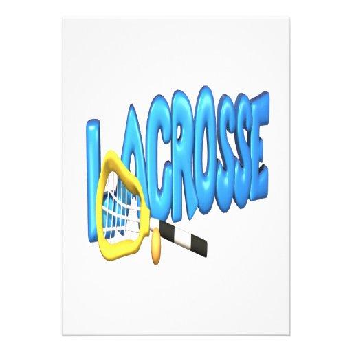 Lacrosse Invitations