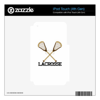 Lacrosse iPod Touch 4G Decals