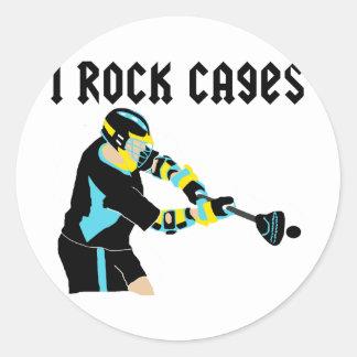 LaCrosse IRockCages Etiquetas Redondas