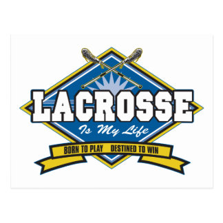 Lacrosse is My Life Post Cards