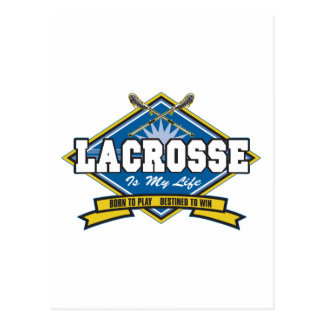 Lacrosse is My Life Post Card