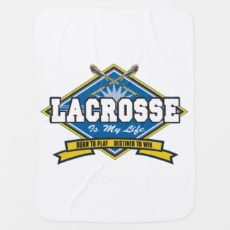 Lacrosse is My Life Receiving Blanket