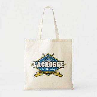Lacrosse is My Life Tote Bag
