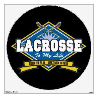 Lacrosse is My Life Wall Sticker