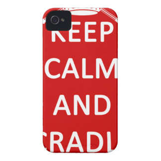 Lacrosse Keep Calm and Cradle On Case-Mate iPhone 4 Case