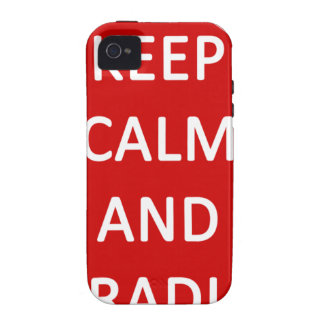 Lacrosse Keep Calm and Cradle On Vibe iPhone 4 Cover