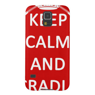 Lacrosse Keep Calm and Cradle On Samsung Galaxy Nexus Cover