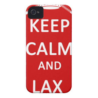 Lacrosse Keep Calm And Lax On Case-Mate iPhone 4 Cases