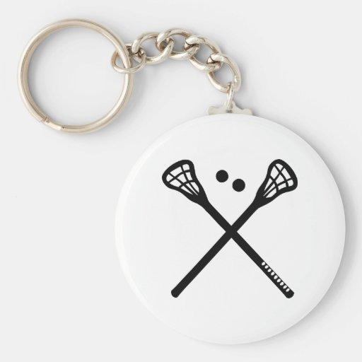 Lacrosse Key Chains
