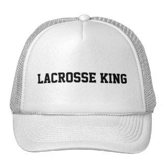 Lacrosse King Trucker Hat