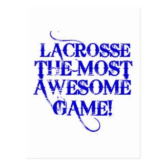 ¡lacrosse la mayoría del juego impresionante! postales
