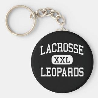 LaCrosse - leopardos - alto - La Crosse Kansas Llaveros