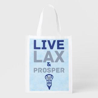 Lacrosse Live LAX and Prosper Market Totes