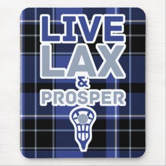 Lacrosse Live LAX and Prosper Mousemat Mouse Pad