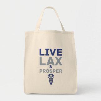 Lacrosse Live LAX and Prosper Tote Bag