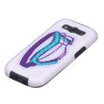 Lacrosse mask phone cover galaxy SIII cover