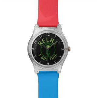 LaCrosse me relaja consiguió este reloj