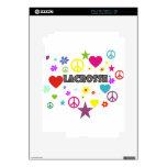 LaCrosse mezcló gráficos iPad 2 Calcomanía