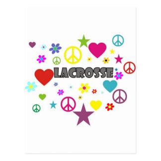 LaCrosse mezcló gráficos Postal