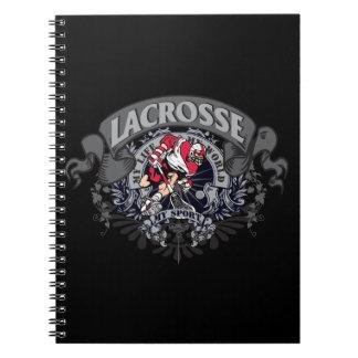 LaCrosse mi deporte Libro De Apuntes Con Espiral