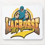 LaCrosse mi juego Alfombrillas De Raton