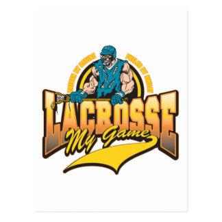 LaCrosse mi juego Tarjetas Postales