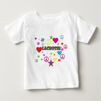 Lacrosse Mixed Graphics Baby T-Shirt
