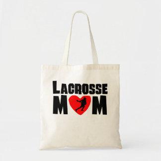 Lacrosse Mom Budget Tote Bag