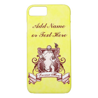 Lacrosse Mom Cell Phone Case